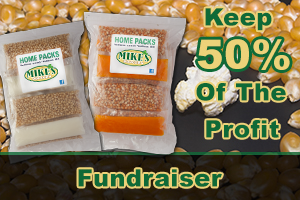 Mikes Popcorn Fundraiser