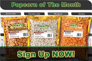 Mike's Popcorn of The Month