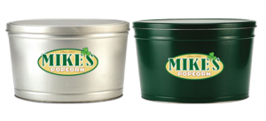 Mike's Popcorn 2 Gallon Tins