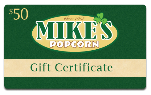Mike's Popcorn 30 Dollar Gift Card